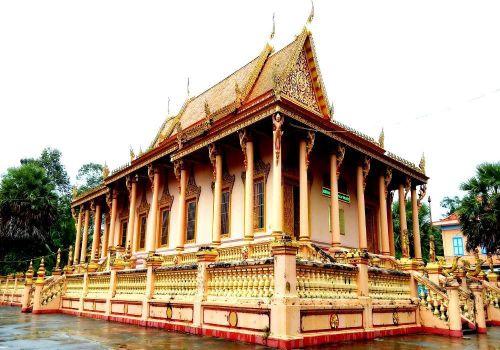 Lạc vào xứ sở những ngôi chùa độc đáo ở Sóc Trăng