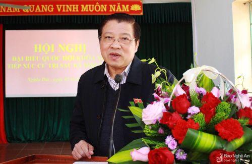 Trưởng ban Nội chính Trung ương: Nếu không có sự giám sát của dân, tham nhũng có cơ hội phát sinh