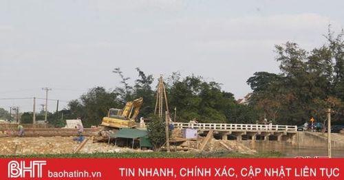 Hà Tĩnh xây mới cây cầu có từ thời vua Bảo Đại
