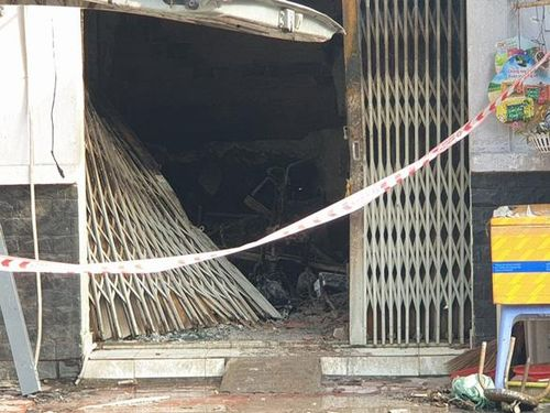 Hiện trường vụ 3 người trong gia đình chết cháy thương tâm ở TP.HCM