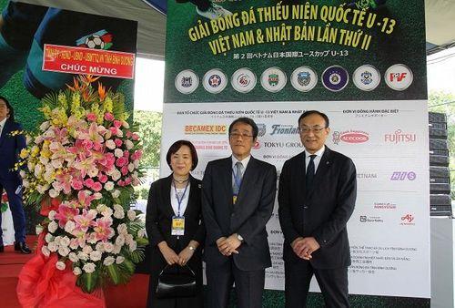 Khai mạc giải bóng đá thiếu niên quốc tế U13 Việt Nam - Nhật Bản 2019
