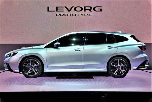 Subaru Levorg Prototype STI Sport sắp ra mắt với động cơ tăng áp 1.8L
