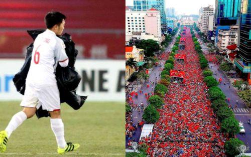 Những khoảnh khắc chạm vào trái tim người hâm mộ khi nhớ về U23 Việt Nam ở Thường Châu