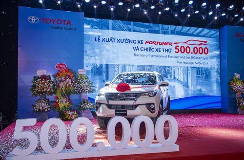 Toyota Việt Nam tăng trưởng mạnh trong năm 2019