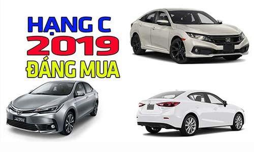 Top xe hạng C bán chạy nhất Việt Nam cuối năm 2019