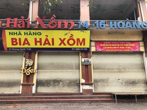 Nhà hàng, quán nhậu đông bậc nhất Hà Nội hoang vắng, đóng cửa chưa hẹn ngày mở