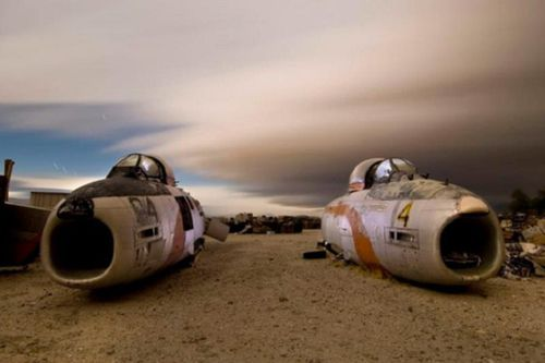 Đột nhập 'nghĩa địa' máy bay kỳ lạ ở Mỹ, ai cũng ngỡ ngàng