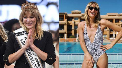 'Giật mình' trước nhan sắc bà mẹ 35 tuổi đăng quang Hoa hậu Đức