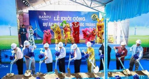 Tập đoàn Năng lượng Banpu khởi công Nhà máy điện gió số 3 tỉnh Sóc Trăng