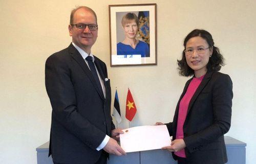 Đại sứ Đặng Thị Hải Tâm dự hoạt động đối ngoại tại Estonia