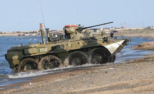 Xe thiết giáp BTR-82AT phiên bản mới của Nga có gì?