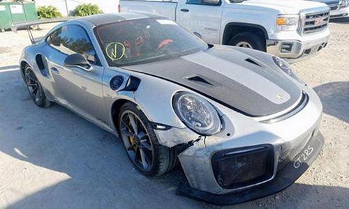 Porsche 911 GT2 RS 'nát đầu' được đấu giá hơn 3,7 tỷ đồng