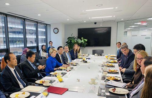 Thúc đẩy hợp tác ASEAN với Cơ quan Thương mại - Phát triển Mỹ và Eximbank