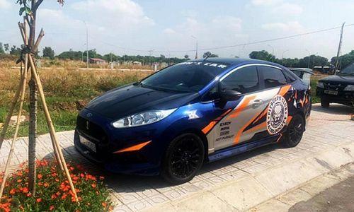 Ford Fiesta độ 'full bàl' chỉ hơn 300 triệu ở Sài Gòn