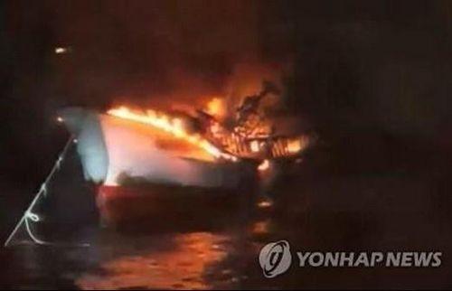 5 thuyền viên người Việt mất tích ngoài khơi đảo Jeju