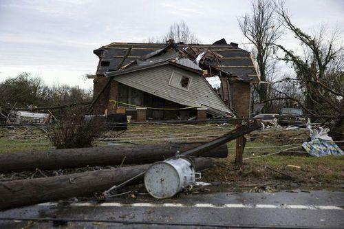 Lốc xoáy kinh hoàng tại Mỹ, ít nhất 25 người thiệt mạng