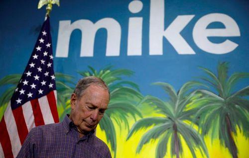 Tỷ phú Bloomberg tính dừng cuộc đua tranh cử tổng thống Mỹ