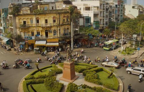 Bối cảnh Thành phố Hồ Chí Minh xuất hiện trong phim mới của Disney