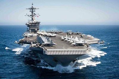 Tìm hiểu về đội bay trên tàu sân bay USS Theodore Roosevelt