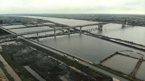 Ngày 10/4 sẽ thông xe cầu Thịnh Long nối hai bờ sông Ninh Cơ