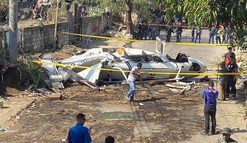 Trực thăng chở Tư lệnh Cảnh sát Quốc gia Philippines gặp nạn