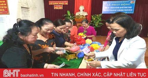 Mổ lợn tiết kiệm 'tặng hoa' cho phụ nữ nghèo Hà Tĩnh