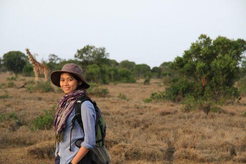 Hành trình dũng cảm của cô gái làm nghề bảo tồn động vật hoang dã