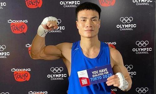 Tay đấm Nguyễn Văn Đương giành vé dự Olympic Tokyo 2020