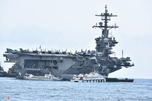 Nhóm tác chiến tàu sân bay Mỹ rời vịnh Đà Nẵng