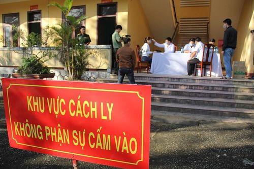Phát hiện 2 ca mắc Covid 19, Quảng Nam đề nghị Bộ Y tế xem xét công bố dịch