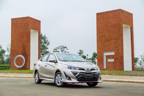 Toyota Vios tiếp tục dẫn đầu thị trường ô tô Việt Nam trong tháng 2/2020
