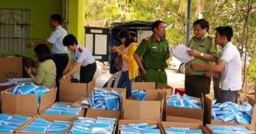 Xử phạt 70 triệu đồng đối với hành vi sản xuất khẩu trang y tế 'chui'
