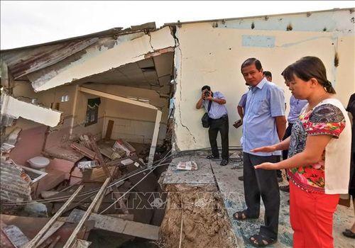 Hai điểm sạt lở mới ở quận Bình Thủy và huyện Phong Điền, Cần Thơ