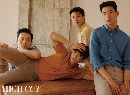 4 anh lính Triều Tiên 'Hạ cánh nơi anh' đẹp trai ngời ngời ngoài đời thực