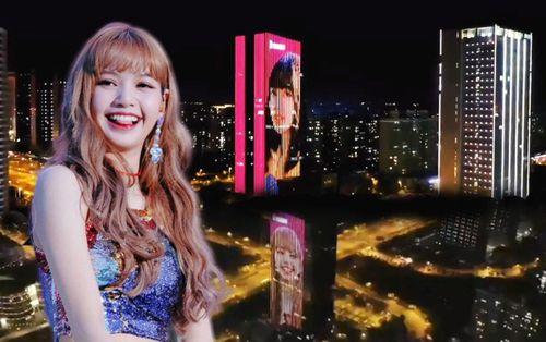 Fanboy của Lisa (BLACKPINK) 'chơi lớn' một mình chuẩn bị project chúc mừng sinh nhật thần tượng ở 9 tòa nhà thuộc 9 thành phố lớn Trung Quốc