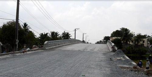 Công trình 624 trúng gói thầu xây cầu Bình Xuân (Tiền Giang)