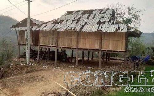 Mưa đá, dông lốc tại 5 tỉnh gây thiệt hại khoảng 2,4 tỷ đồng