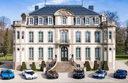 Ngắm bộ sưu tập siêu xe thể thao Bugatti trị giá 43,8 triệu USD