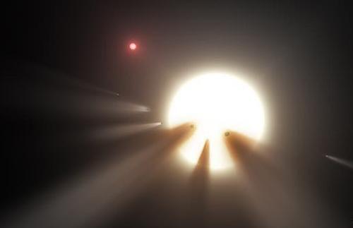Dấu hiệu lạ từ 'hệ mặt trời' khác: Do người ngoài hành tinh?