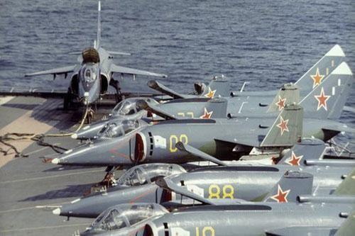 Những 'bom tấn' trên biển và trên không 'khủng' nhất của Nga và Liên Xô