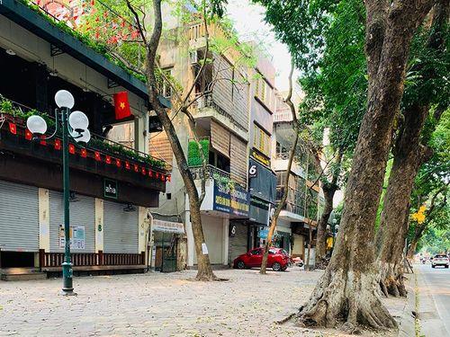 Quận Ba Đình: Các cửa hàng, dịch vụ không thiết yếu đều tạm dừng hoạt động