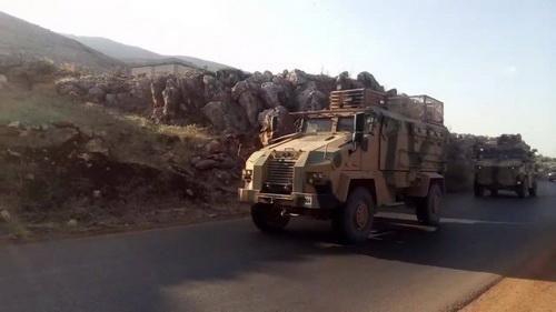 Quân tiếp viện của Thổ Nhĩ Kỳ tới Nam Idlib trong 'tình hình nóng'