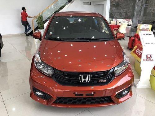Giá lăn bánh kèm khuyến mãi Honda Brio các phiên bản