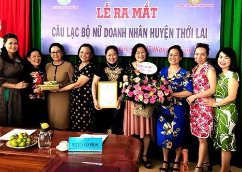 'Điểm sáng' từ Câu lạc bộ Nữ doanh nhân huyện Thới Lai