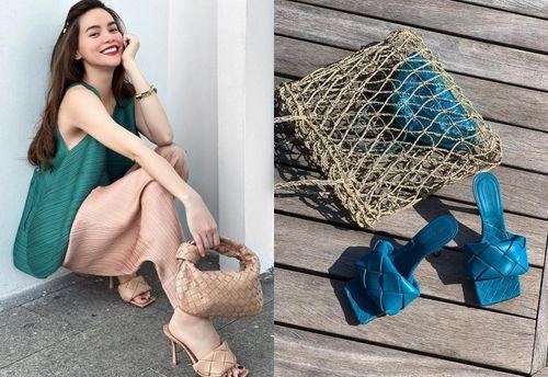 Đôi giày mũi vuông 1.370 USD khiến Hồ Ngọc Hà, Rihanna mua bằng được