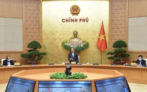 Chính phủ họp phiên thường kỳ tháng 3