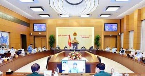 Công bố 5 Nghị quyết của Ủy ban Thường vụ Quốc hội về phê chuẩn nhân sự