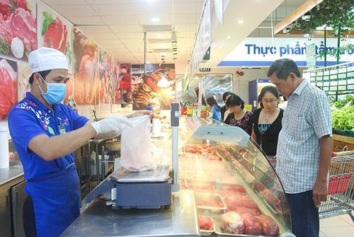 Giá thịt heo giảm nhẹ