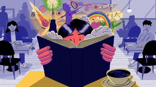 Đừng đọc sách để chạy trốn cuộc sống