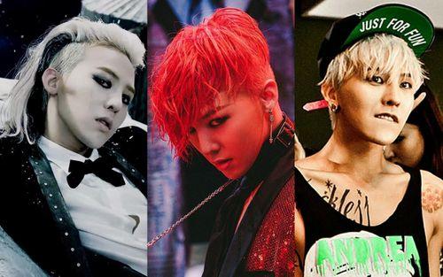 Những kiểu tóc ấn tượng gắn liền với sự nghiệp của 'ông hoàng Kpop' G-Dragon